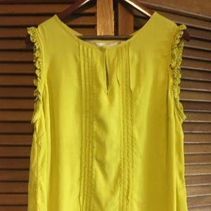 Boden yellow blouse